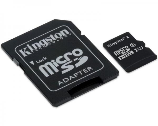 KINGSTON UHS-I U1 MicroSDHC 32GB + Adapter SDCIT/32GB