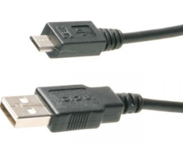 FAST ASIA Kabl USB A - USB Micro-B M/M 1m crni