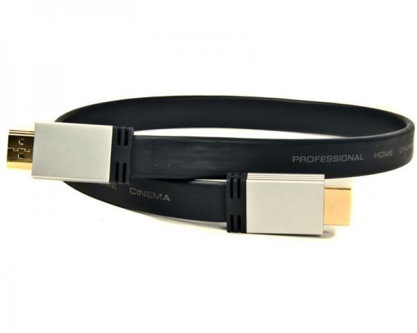 FAST ASIA Kabl HDMI 2.0 M/M 1.5m flat crni
