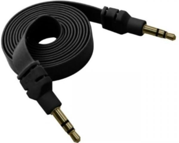 FAST ASIA Kabl audio 3.5mm M/M 1m crni