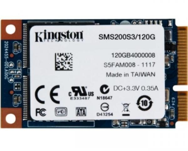 KINGSTON 120GB mSATA SMS200S3/120G SSDNow mS200