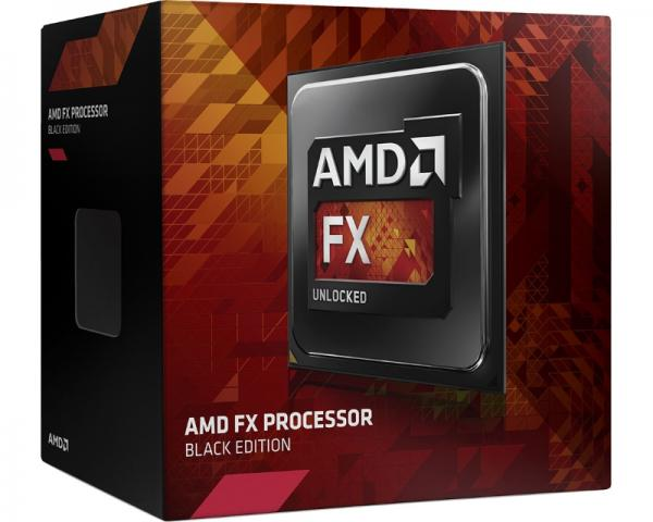 AMD FX-8350 8 cores 4.0GHz (4.2GHz) Black Edition Box