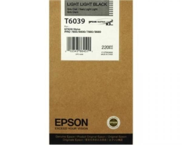 EPSON T6039 light light crni kertridž