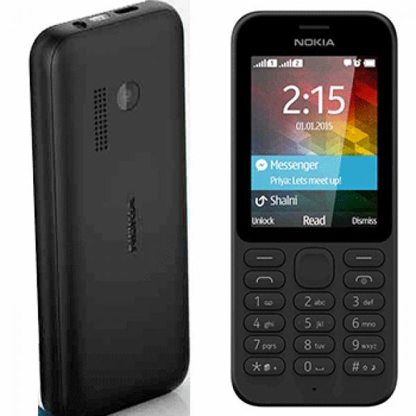 Nokia 215 DS Black Dual Sim