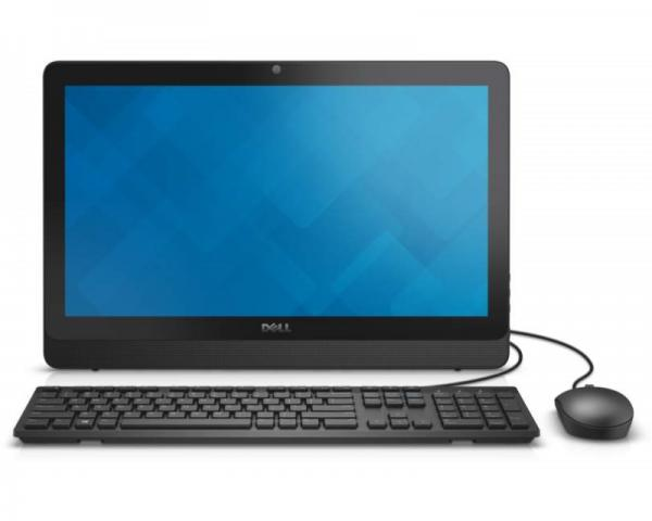 DELL Inspiron 20 (3052) Pentium N3700 Quad Core 1.6GHz (2.4GHz) 4GB 1TB ODD Windows 10 Home 64bit crni + tastatura + miš 5Y5B