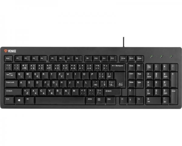 YENKEE YKB 1001CS USB crna tastatura