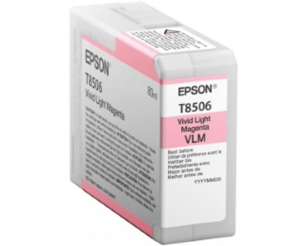 EPSON T8506 UltraChrome HD vivid light magenta 80ml kertridž