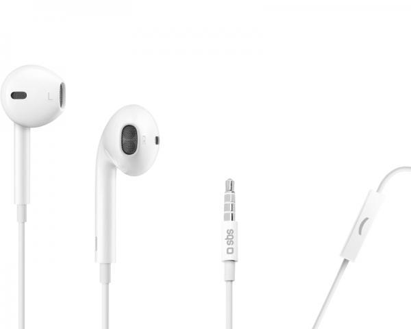 SBS Slušalice sa mikrofonom za mobilne uređaje Studio Mix 50 bele TTEARSETAPW