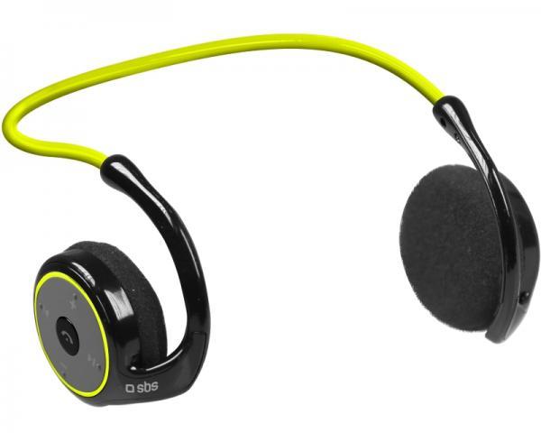 SBS Slušalice sa mikrofonom za mobilne uređaje Bluetooth Sport Runway Fit žute TESPORTHEADPHBTY