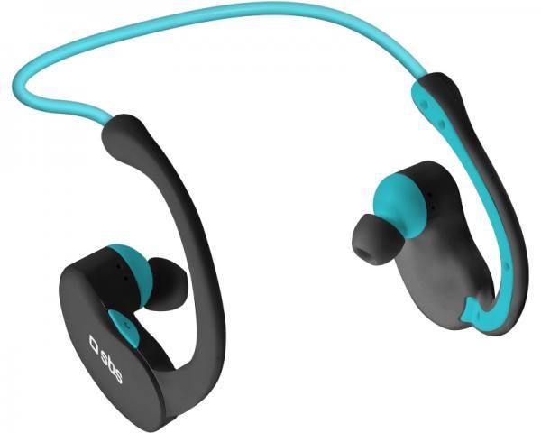 SBS Slušalice sa mikrofonom za mobilne uređaje Bluetooth Sport Runway Evolution crno-plave TESPORTEARSETBTK