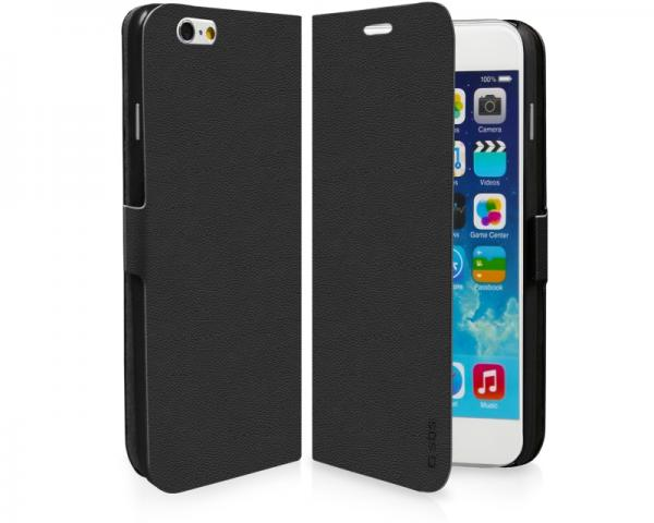 SBS Futrola za Apple iPhone 6/6S na preklop crna TEBOOKIP647K