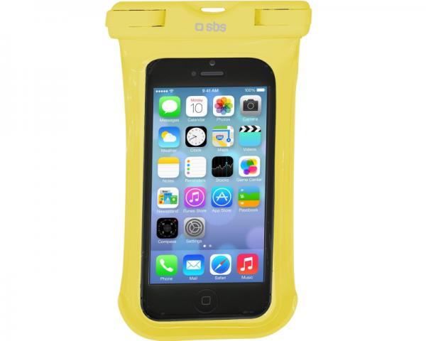 SBS Futrola za mobilni telefon vodootporna žuta TEWATERUNIY