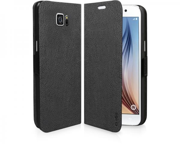 SBS Futrola za Samsung Galaxy S6 na preklop crna TEBOOKSAS6K