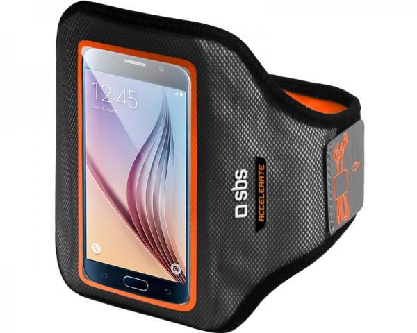 SBS Futrola za mobilni telefon univerzalna GoFit Arm Band XL crno-narandžasta TEARMACCELXLO