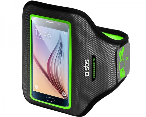 SBS Futrola za mobilni telefon univerzalna GoFit Arm Band XL crno-zelena TEARMACCELXLG