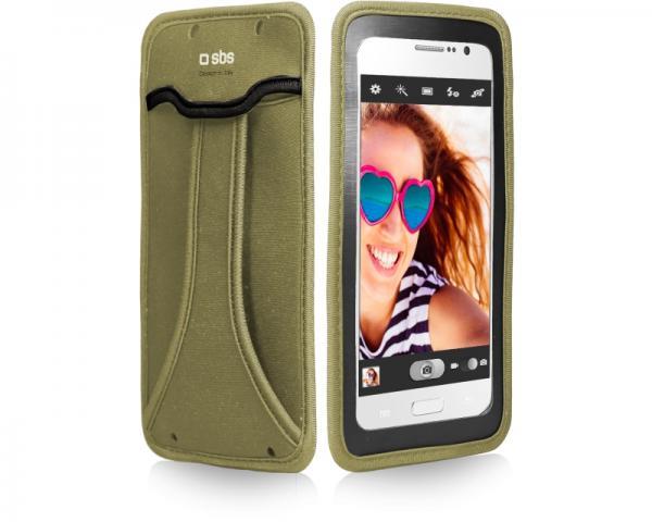 SBS Futrola za mobilni telefon selfie do 5 zelena TEHANDYXLG