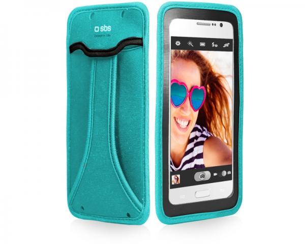 SBS Futrola za mobilni telefon selfie do 5 plava TEHANDYXLB