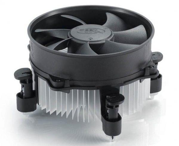 DeepCool ALTA9 Intel Socket CPU kuler 65W 92mm.Fan 2200rpm 40CFM 25dBa LGA1156/LGA775/i7/