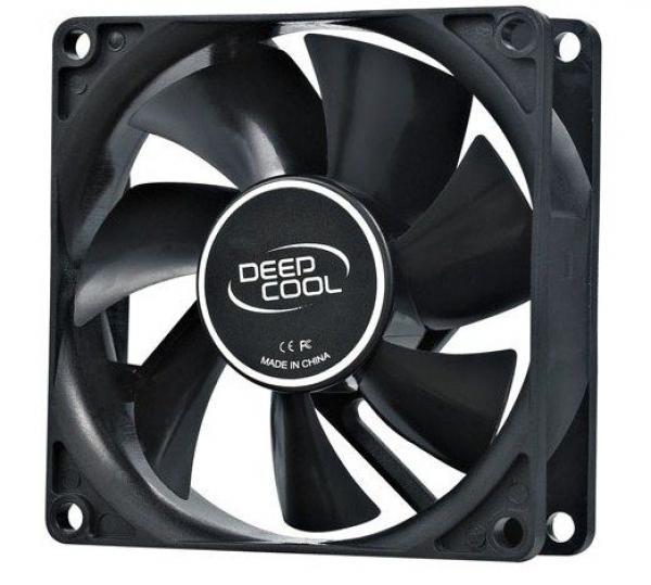 DeepCool XFAN80 80x80x25mm ventilator hydro bearing 1800rpm 21CFM 20dBa
