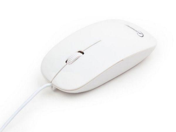 MUS-103-W Gembird Opticki mis 1200Dpi white USB