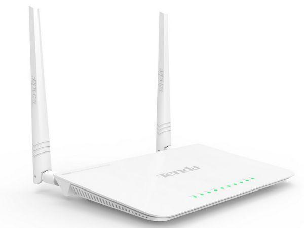 Tenda FH302D 300N WiFi High Power 200mV Ruter WISP/universal repeater/WDS-b/AP/WPS 1W/4L detach.2x5d