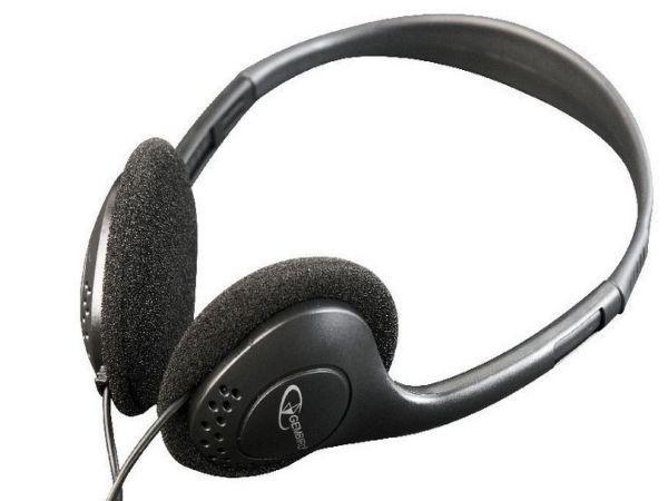 MHP-123 Gembird Stereo slusalice sa volume kontrolom black