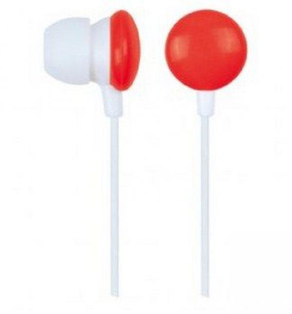 MHP-EP-001-R Gembird MP3 slusalice red