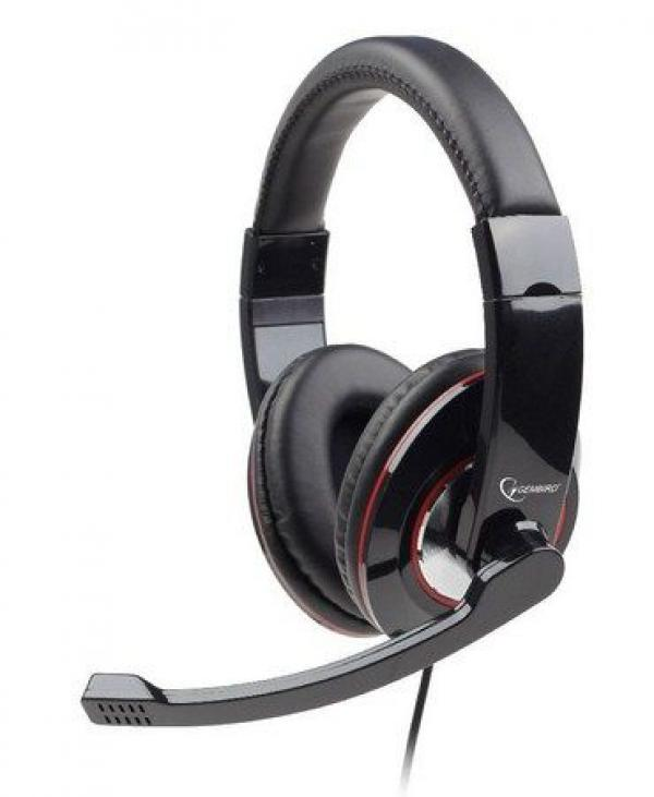 MHS-U-001 Gembird Stereo slusalice sa mikrofonom USB black