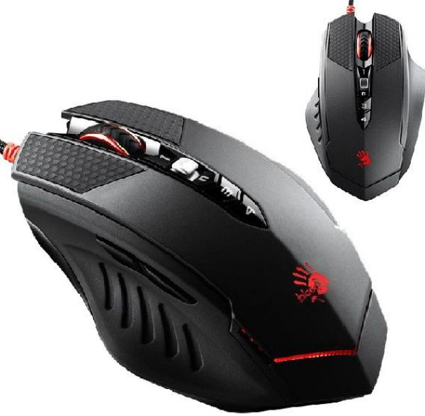 A4-T70 Bloody 4-core Gaming mis, INFRARED-Micro-switch,1000Hz/400-4000 Dpi, Metal Feet, USB