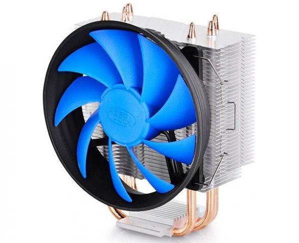 DeepCool GAMMAXX300 UNI kuler130W 120mm.Fan 900~1600rpm 55CFM 18~21dBa LGA 1156/775/K8/FM/AM 2xpipes