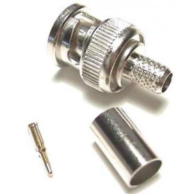 CA-BNC59-001 RG-59 BNC crimping connector, 50kom u pakovanju