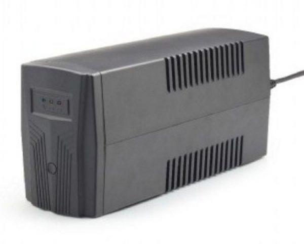 EG-UPS-B650 Gembird 650VA 390W AVR Basic 650 UPS, 2 x Shuko output sockets, black