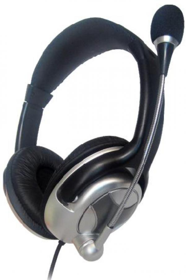 MHS-401 Gembird stereo slusalice sa mikrofonom+volume kontrol