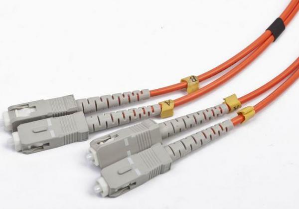 CFO-SCSC-OM2-5M Gembird Duplex multimode fibre opticki kabl (50/125 OM2) 5m