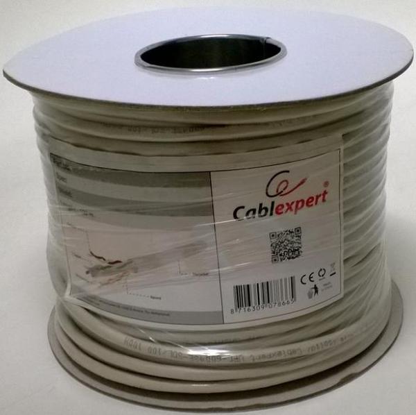 FPC-6004-SOL/100 Gembird FTP cat.6 Indoor solid CCA kotur 100m