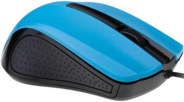 MUS-101-B Gembird Opticki mis 1200Dpi black blue USB
