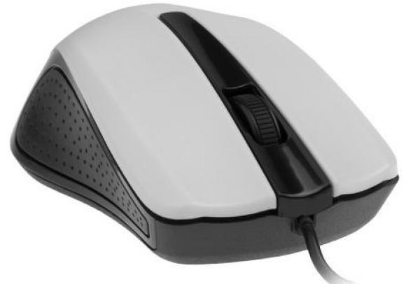 MUS-101-W Gembird Opticki mis 1200Dpi black white USB