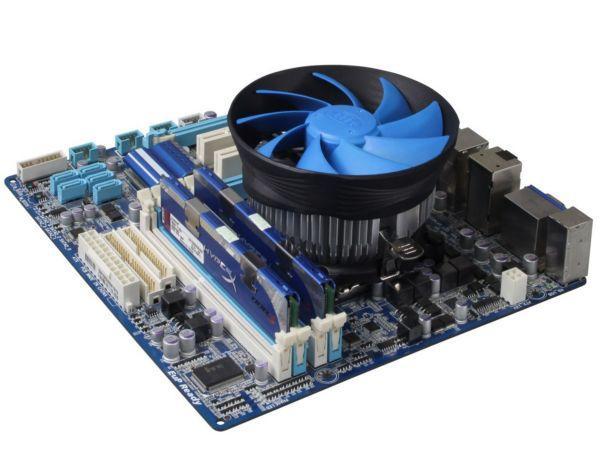 DeepCool GAMMAARCHER UNI CPU kuler 95W 120mm 1600rpm 55CFM LGA1155/LGA775 FM2/FM/AM3+ /AM2+/940/754