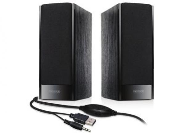 Microlab B-56 Stereo zvucnici, black, 3W RMS(2 x 1.5W), USB power,3.5mm