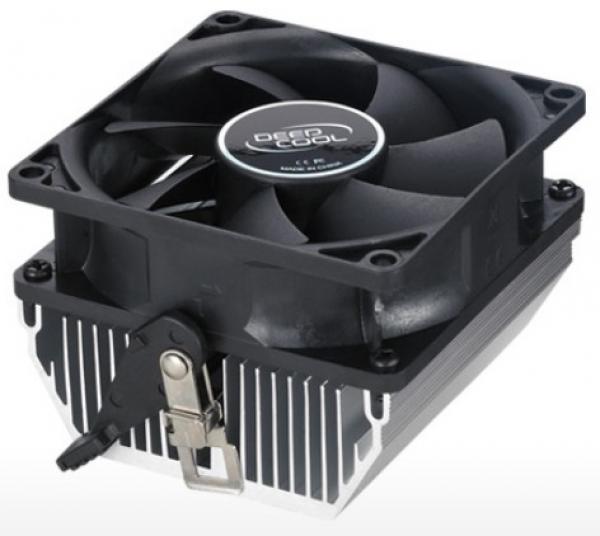 DeepCool CK-AM209 AMD socket CPU kuler 65W 80mm.Fan 2500rpm 32CFM 28dB FM2/FM1/AM3+/AM3/AM2+/940/754