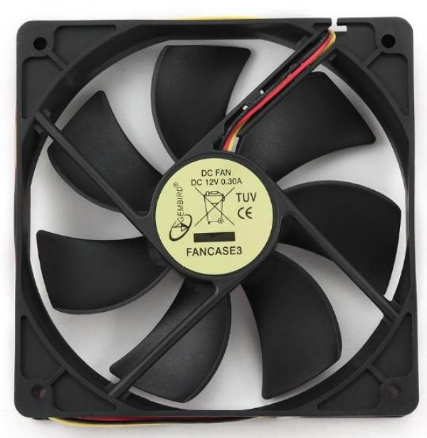 FANCASE3 Gembird ventilator za kuciste 120x120x25mm