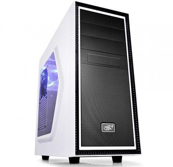 DeepCool TESSERACTSW WHITE GAMING DESIGN COMPUTER CASE 472*210*454mm 5.1kg