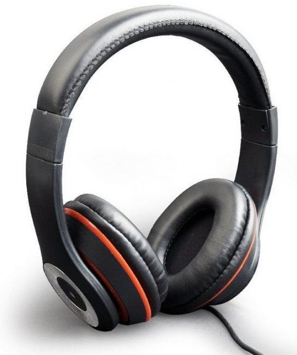 MHS-LAX-B Gembird Stereo slusalice sa mikrofonom Los Angeles black (1x3,5mm)