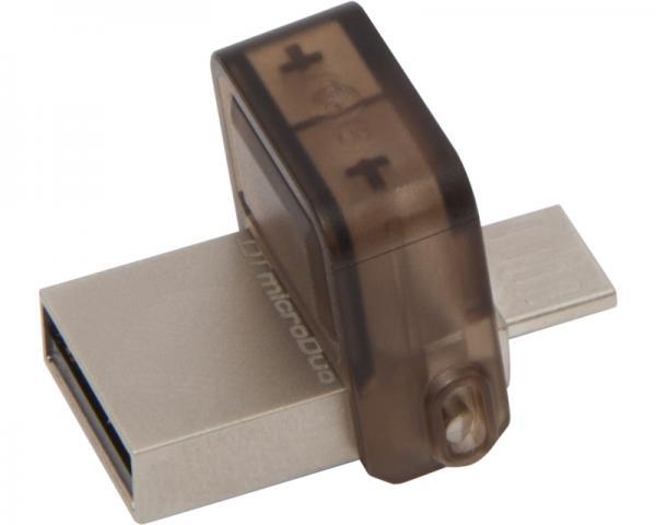 KINGSTON 16GB DataTraveler MicroDuo USB 2.0/USB OTG flash DTDUO/16GB crni
