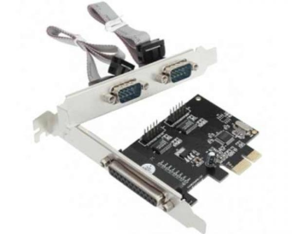 GREEN CONNECTION PCI Express kontroler 2xSerial + Parallel 2S1P-9901