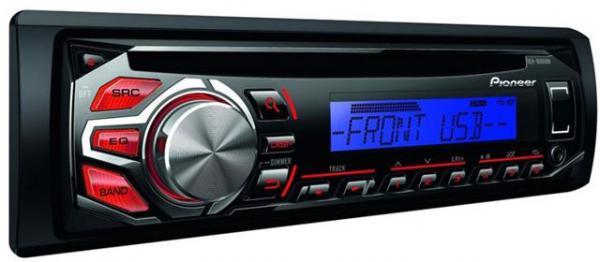 AUTO RADIO Pioneer DEH-1700UBB - radioCDUSBAUXMP3USB