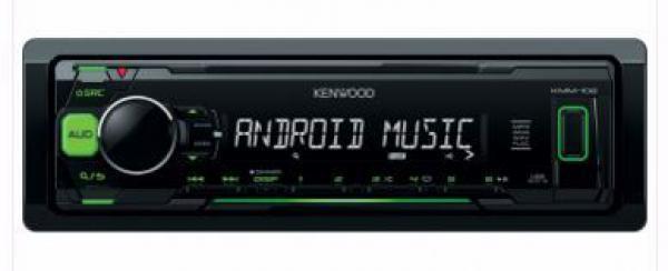 AUTO RADIO Kenwood KMM-102GY - radioUSBMP3WMA