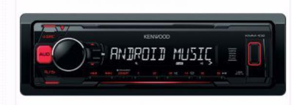 AUTO RADIO Kenwood KMM-102RY - radioUSBMP3WMA