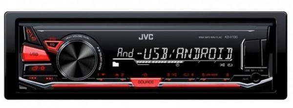 AUTO RADIO JVC KD-X130MP3WMAFLACSubwoofer izlaz