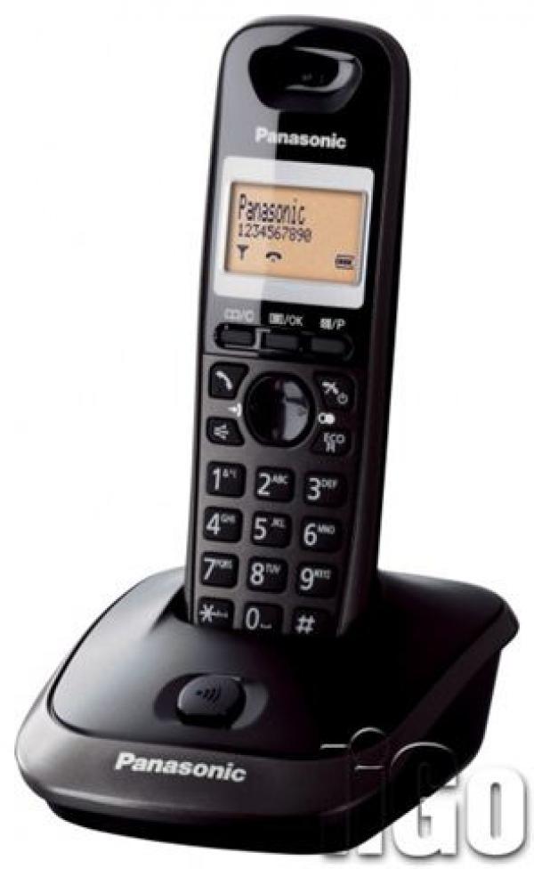 PANASONIC telefon KX-TG2511FXT crni